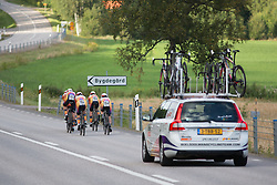 The Boels-Dolmans Cycling Team rides on the bendy roads of the 42,5 km team time trial of the UCI Women's World Tour's 2016 Crescent Vårgårda women's road cycling race on August 19, 2016 in Vårgårda, Sweden. (Photo by Balint Hamvas/Velofocus)
