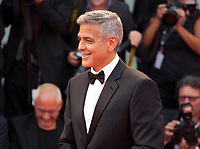 George Clooney at the premiere of the film Suburbicon at the 74th Venice Film Festival, Sala Grande on Saturday 2 September 2017, Venice Lido, Italy.