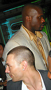 **EXCLUSIVE**.Kevin Federline is ignored by Shaquille O'Neal.Shaquille O'Neal Kick Off Event.Casa Casaurina aka (Versace Mansion).Miami Beach, FL, USA.Thursday, February 01, 2007.Photo By Celebrityvibe.com.To license this image please call (212) 410 5354; or.Email: celebrityvibe@gmail.com ;.Website: www.celebrityvibe.com