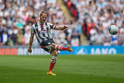 Grimsby Town's Craig Disley during the Conference Premier Final match between Forest Green Rovers and Grimsby Town FC at Wembley Stadium, London, England on 15 May 2016. Photo by Shane Healey.