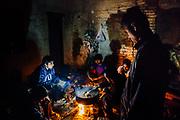 Pakistani smugglers camp, Subotica, Serbia 2017