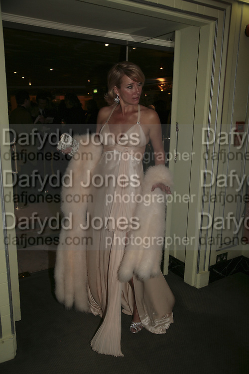 Emma Thompson, Cocktail party before the  27th Annual London Film Critics' Circle Awards. In aid of the NSPCC. Dorchester. 8 February 2007.  -DO NOT ARCHIVE-© Copyright Photograph by Dafydd Jones. 248 Clapham Rd. London SW9 0PZ. Tel 0207 820 0771. www.dafjones.com.