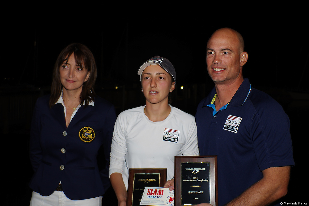 Sarah Newberry & John Casey win 1st place at the Nacra 17 North Americans