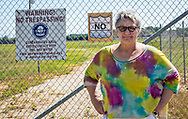 Gloria G. Horning Ph.D at the Escambia Wood Treating Company Superfund Site.