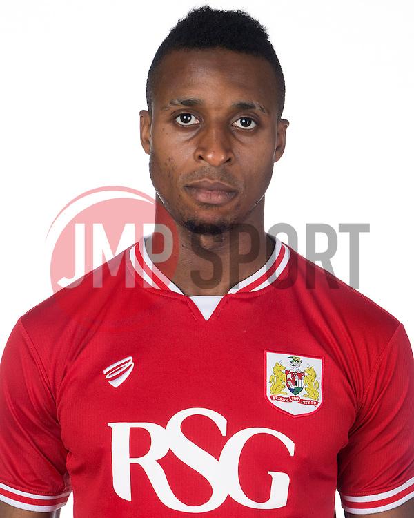 Jonathan Kodjia of Bristol City  - Mandatory byline: Joe Meredith/JMP - 07966386802 - 04/08/2015 - FOOTBALL - Bristol City Training Ground -Bristol,England - Bristol City Headshots