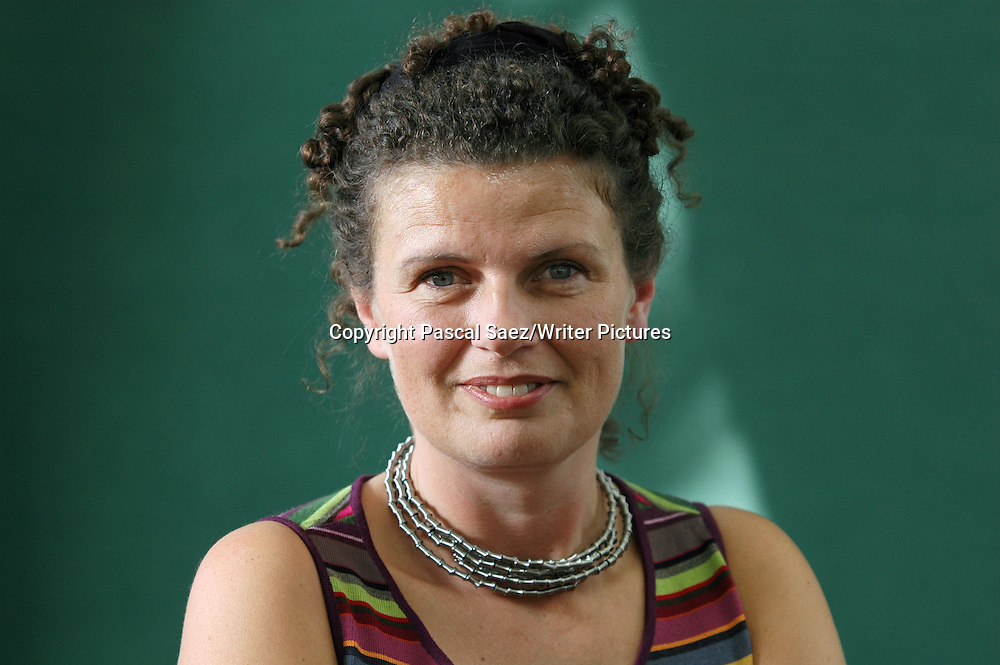 Writer Clare Pettitt, author of &quot;Dr Livingstone, I presume?&quot;, at the Edinburgh International Book Festival 2007. <br /> <br /> Copyright Pascal Saez/Writer Pictures<br /> <br /> contact +44 (0)20 8241 0039<br /> sales@writerpictures.com<br /> www.writerpictures.com