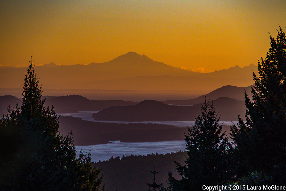 View from Salt Spring Island, British Columbia, Canada