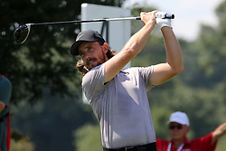 September 21, 2018 - Atlanta, GA, U.S. - ATLANTA, GA - SEPTEMBER 21:   Tommy Fleetwood during the second round of the Tour Championship on September 21, 2018, at East  Lake Golf Club in Atlanta, GA.  (Photo by Michael Wade/Icon Sportswire) (Credit Image: © Michael Wade/Icon SMI via ZUMA Press)