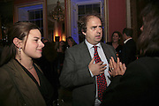 EMMA GROVE AND ALEXANDER WAUGH, Literary Review's Bad Sex In Fiction Prize.  In & Out Club (The Naval & Military Club), 4 St James's Square, London, SW1, 29 November 2006. <br />