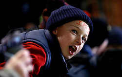 A Lincoln City fan cheers on his team - Mandatory by-line: Robbie Stephenson/JMP - 17/01/2017 - FOOTBALL - Sincil Bank Stadium - Lincoln, England - Lincoln City v Ipswich Town - Emirates FA Cup third round replay