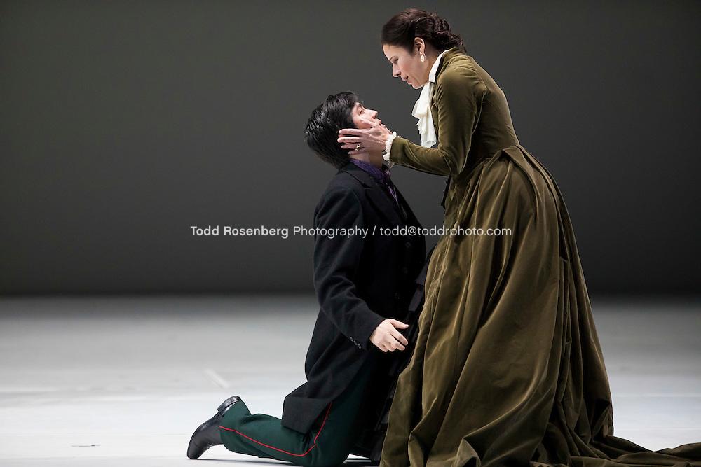 2/23/17 5:03:16 PM <br /> Lyric Opera of Chicago<br /> <br /> Eugene Onegin Dress Rehearsal<br /> <br /> Mariusz Kwiecien -Eugene Onegin<br /> Ana Maria Martinez -Tatiana<br /> Charles Castronovo-Vladamir<br /> Alisa Kolosova- Olga<br /> <br /> &copy; Todd Rosenberg Photography 2017