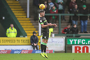 Forest Green Rovers Liam Shephard(2) during the EFL Sky Bet League 2 match between Yeovil Town and Forest Green Rovers at Huish Park, Yeovil, England on 8 December 2018.