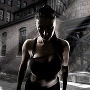 HDR Composition Athlete Portrait