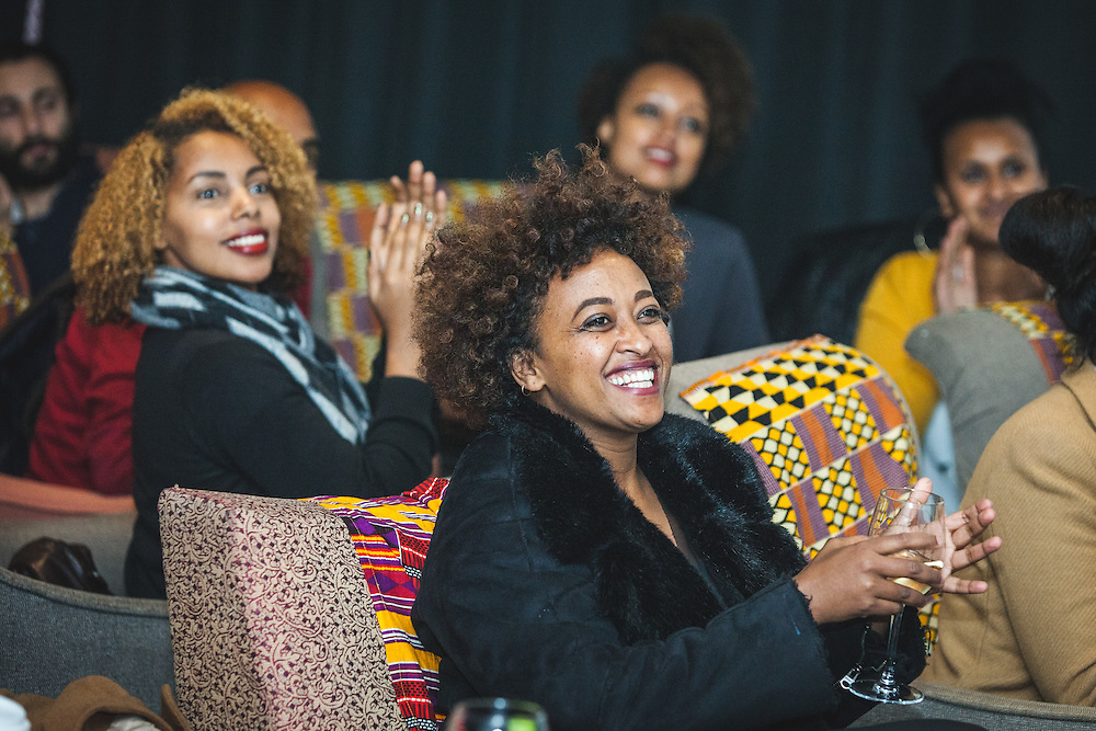 "Photographer Medhin Paolos (""Asmarina"") during The Royal African Society's Annual Film Festival 2016. London, Tuesday 3 November 2016. (Photos/Ivan Gonzalez)"