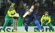 SA v Sri Lanka - July August 2018
