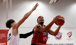 Greg Steete of Bristol Flyers reaches for the basket - Photo mandatory by-line: Robbie Stephenson/JMP - 17/09/2016 - BASKETBALL - SGS Wise Arena - Bristol, England - Bristol Flyers v Worcester Wolves - Exhibition Game