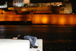 Nap time, 2011<br /> Photo by Darrin Zammit Lupi