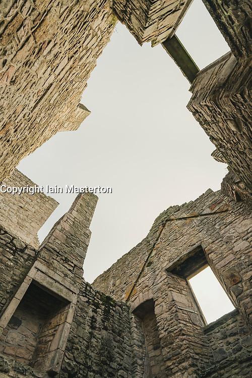 Craigmillar Castle in Edinburgh, Scotland, UK