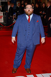 Nick Frost attends The World Premiere of 'Cuban Fury'. Leicester Square, London, United Kingdom. Thursday, 6th February 2014. Picture by Chris Joseph / i-Images