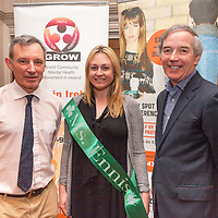 "Robert Stephen, Chair of Clare GROW, Terry Brandon, Miss Ennis and John Lonegan, ex governor of Mountjoy prison, at the launch of ""Mind your Mental Health"" Course by Clare Branch of Grow, the World Community Health Movement in Ireland at Templegate Hotel on Monday night"