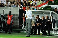 FOOTBALL - FRENCH CHAMPIONSHIP 2012/2013 - L1 - PARIS SG v FC LORIENT - 11/08/2012 - PHOTO JEAN MARIE HERVIO / REGAMEDIA / DPPI - CHRISTIAN GOURCUFF ( LORIENT COACH )