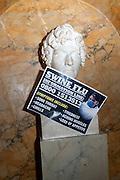 Philip Sallon's mass paranoia swine flu birthday party. DRESS: DISEASE RELATED OR SWINE, Home House. Portman Sq. London. 13 November 2009.