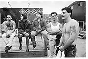 Annual Coney Island Tatoo Festival, Amazon Village, 11th October 1992© Copyright Photograph by Dafydd Jones 66 Stockwell Park Rd. London SW9 0DA Tel 020 7733 0108 www.dafjones.com