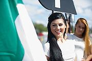 Lamborghini grid girl