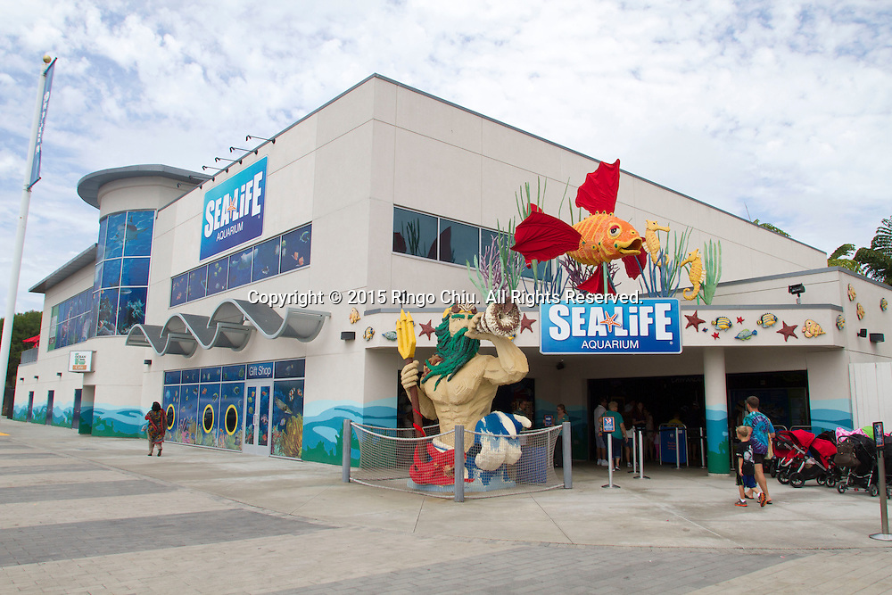 The Sea Life Aquarium at Legoland in Carlsbad, California.(Photo by Ringo Chiu/PHOTOFORMULA.com)