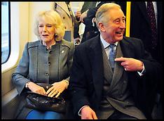 JAN 30 2013 Prince Charles and Camillia on the Tube