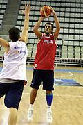 Allenamento Eurobasket 2007<br /> Marco Belinelli