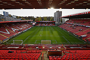 The Valley football stadium before the EFL Sky Bet League 1 match between Charlton Athletic and Port Vale at The Valley, London, England on 19 November 2016. Photo by David Charbit.