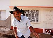 Man in Cruces, Cienfuegos Province, Cuba.