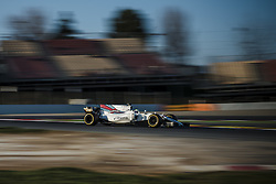 February 27, 2017 - FELIPE MASSA (BRA) drives in his Williams Mercedes FW40 on the track during day 1 of Formula One testing at Circuit de Catalunya, Spain (Credit Image: © Matthias Oesterle via ZUMA Wire)