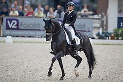 Ida-Linn Lundholm, SWE, Eclectisch<br /> World Championship Young Dressage Horses <br /> Ermelo 2016<br /> © Hippo Foto - Dirk Caremans<br /> 29/07/16