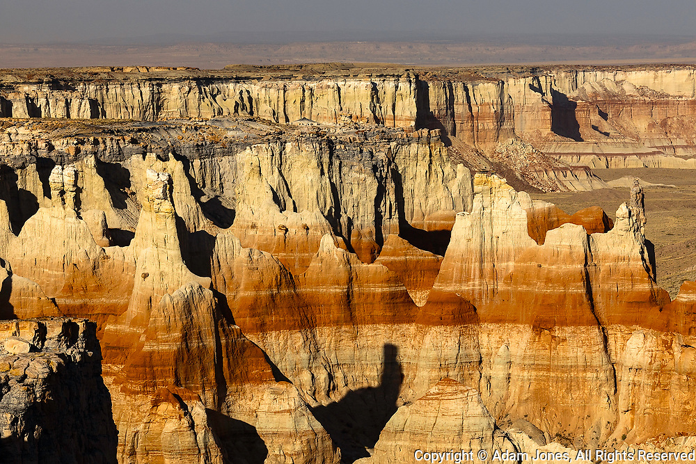 Coal Mine Canyon near Tuba City, Arizona, part of the Moenkopi Wash.  Sits  between the Navajo and Hopi Reservations