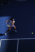 Li Na plays at the 2013 Australian Open - a Grand Slam Tournament - the opening event of the tennis calendar annually. The Open is held each January in Melbourne, Australia.