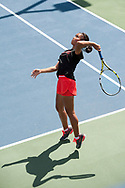 Jennifer Wong. Idaho High School State Tennis Championships on May 20, 2017 at Boise State University's Appleton Tennis Complex, Boise, Idaho. <br /> <br /> Boise's girls doubles team of Jennifer Wong and Greta Walser won a thriller over Borah's Cassidy Binder and Madeline Krausteam, 6-4, 3-6, 7-6 (10-8) to claim the 5A girls doubles title.