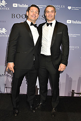 Adam Bidwell (R) with guest at the Boodles Boxing Ball, in association with Argentex and YouTube in Support of Hope and Homes for Children at Old Billingsgate London, United Kingdom - 7 Jun 2019 Photo Dominic O'Neil