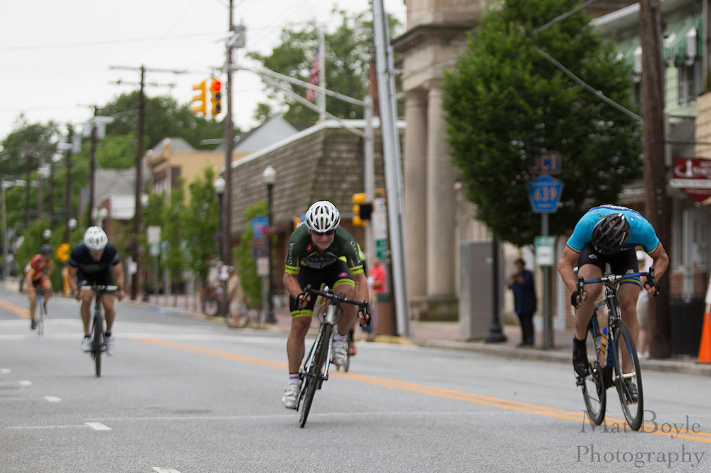 2013 Bob Riccio Memorial Tour De Pitman Masters 35+ rcae in Pitman, NJ on Saturday June 8, 2013. (photo / Mat Boyle)
