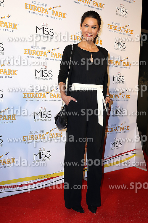 28.02.2015, Europapark Dom, Rust, GER, Miss Germany Wahl 2015, im Bild Mariella Ahrens (Schauspielerin) // during the election to Miss Germany 2015 at the Europapark Dom in Rust, Germany on 2015/02/28. EXPA Pictures © 2015, PhotoCredit: EXPA/ Eibner-Pressefoto/ BW-Foto<br /> <br /> *****ATTENTION - OUT of GER*****