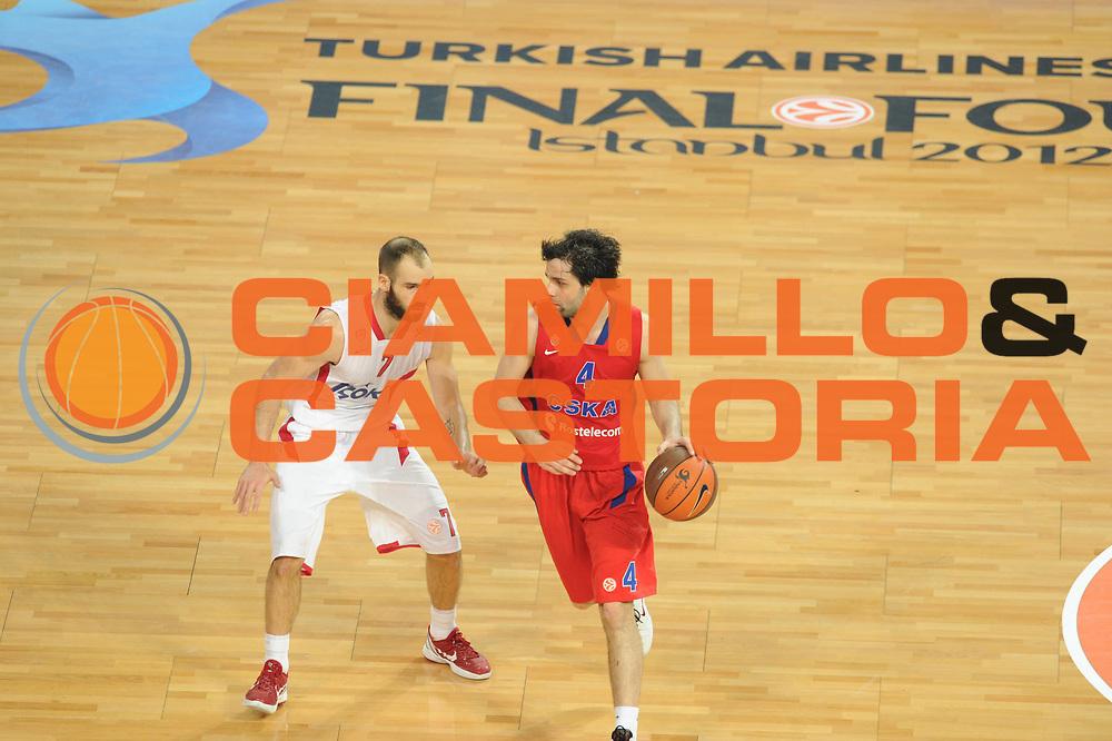 DESCRIZIONE : Istanbul Eurolega Eurolegue 2011-12 Final Four Finale Final CSKA Moscow Olympiacos<br /> GIOCATORE : Vassilis Spanoulis<br /> SQUADRA : Olympiakos<br /> CATEGORIA : difesa<br /> EVENTO : Eurolega 2011-2012<br /> GARA : CSKA Moscow Olympiacos<br /> DATA : 13/05/2012<br /> SPORT : Pallacanestro<br /> AUTORE : Agenzia Ciamillo-Castoria/GiulioCiamillo<br /> Galleria : Eurolega 2011-2012<br /> Fotonotizia : Istanbul Eurolega Eurolegue 2010-11 Final Four Finale Final CSKA Moscow Olympiacos<br /> Predefinita :