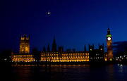 Parliament at Night - Big Ben