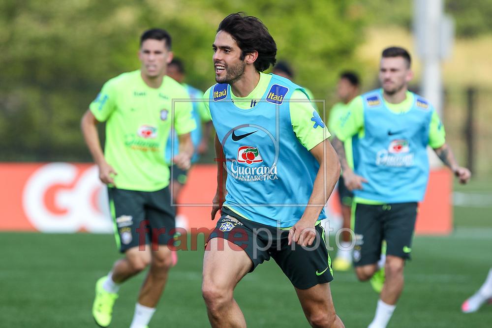 Nova Jersey, EUA - 01/09/2015 - Kaká, Segundo dia de treino da seleção Brasileira no centro de treinamento do NY Red Bulls  Foto: Wagner AZ /Frame