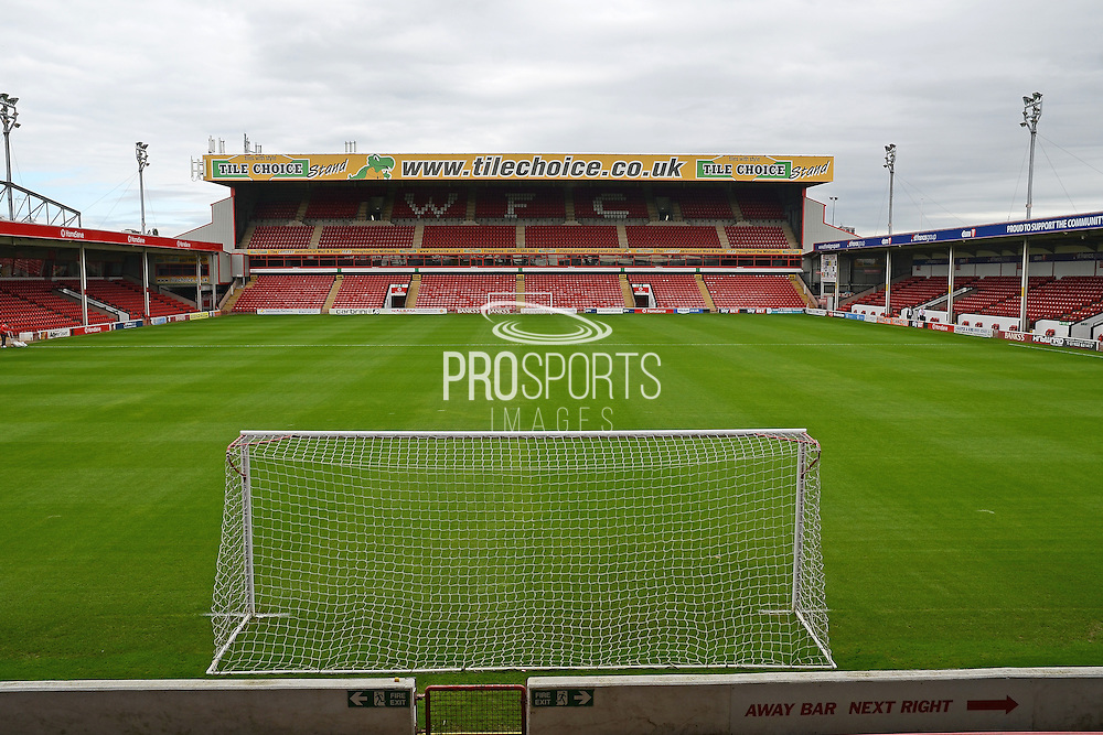Pitch during the EFL Sky Bet League 1 match between Walsall and Bolton Wanderers at the Banks's Stadium, Walsall, England on 17 September 2016. Photo by Alan Franklin.