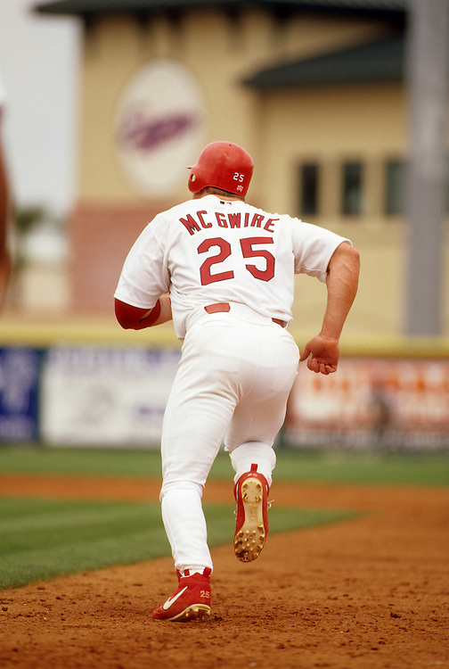 St. Louis Cardinal Baseball Mark McGwire