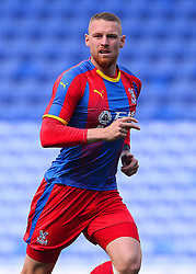 """Crystal Palace's Connor Wickham during the pre-season friendly match at the Madejski Stadium, Reading. PRESS ASSOCIATION Photo. Picture date: Saturday July 28, 2018. See PA story SOCCER Reading. Photo credit should read: Mark Kerton/PA Wire. RESTRICTIONS: EDITORIAL USE ONLY No use with unauthorised audio, video, data, fixture lists, club/league logos or """"live"""" services. Online in-match use limited to 75 images, no video emulation. No use in betting, games or single club/league/player publications."""