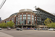 SEATTLE, WA- APRIL 26: A general view of the exterior of Safeco Field prior to the game between the Seattle Mariners and the Minnesota Twins on April 26, 2015 at Safeco Field in Seattle, Washington. The Twins defeated the Mariners 4-2. (Photo by Brace Hemmelgarn) *** Local Caption ***