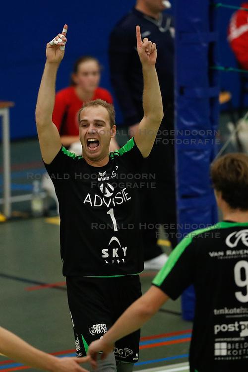 20161029 NED: Eredivisie, Vallei Volleybal Prins - Advisie SSS: Ede<br />Frank van der Noort of Advisie SSS <br />©2016-FotoHoogendoorn.nl / Pim Waslander