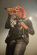 Photos of My Chemical Romance performing at the Pageant in St. Louis on December 14, 2010.